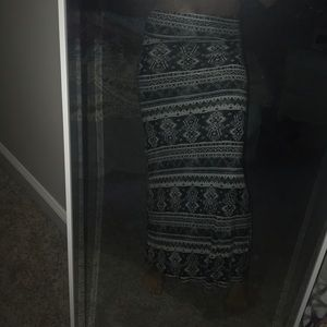 MAXI stretchy skirt